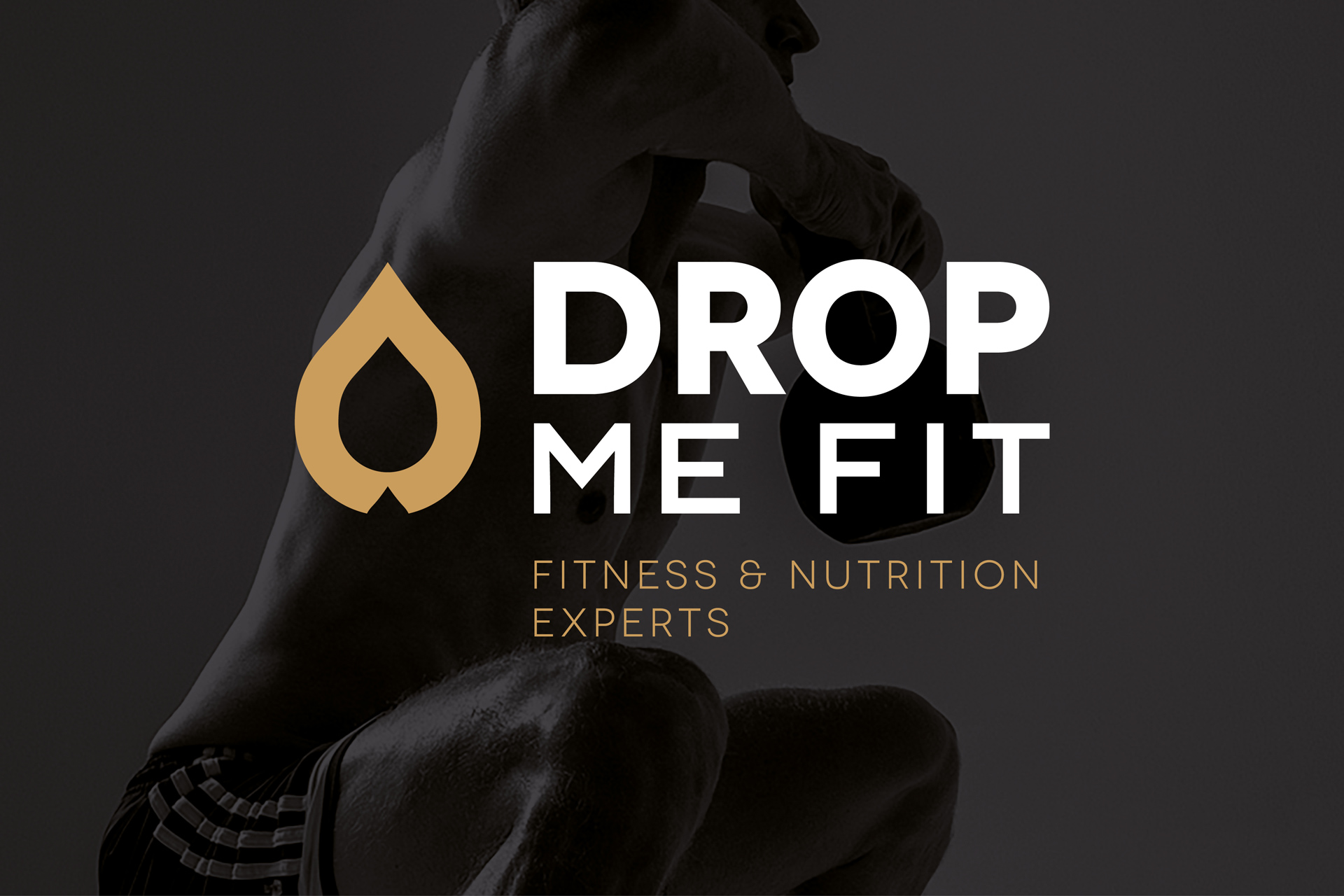 Drop Me Fit - Logo